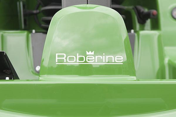 Roberine logo klepelmaaier kooimaaier onderhoud sportvelden, compact, grasmaaier grasmaaien bermonderhoud